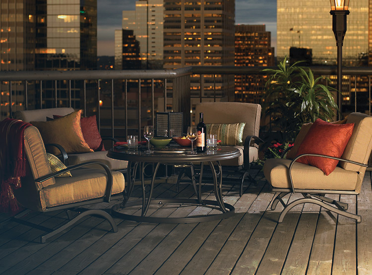 patio furniture and pergolas