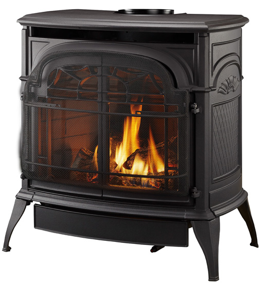 Stardance Direct Vent With Total Signature Command Classic Black Nee Fireplaces