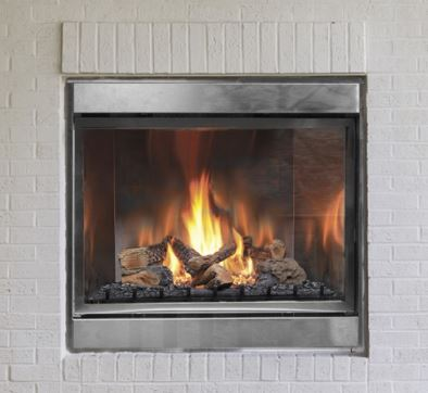"H Series Ventless 42"" Single-sided Gas Fireplace (LP ..."