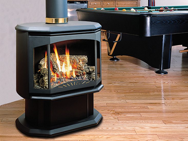 Free Standing Gas Stove Nee Fireplaces